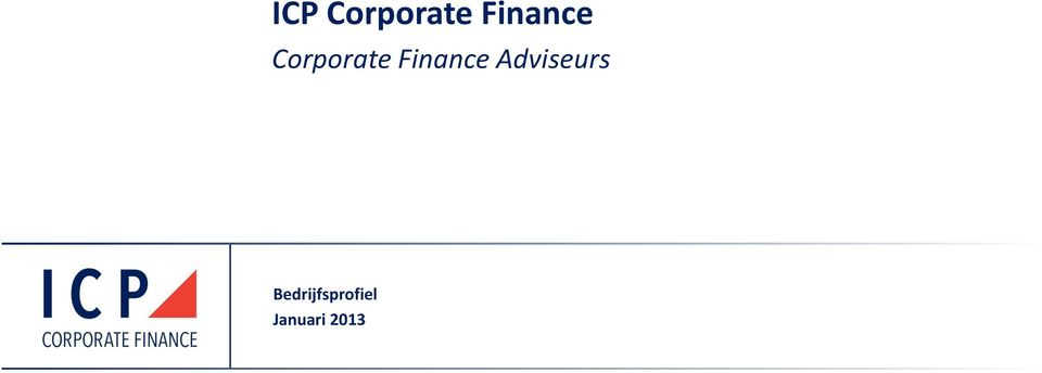 Finance Adviseurs