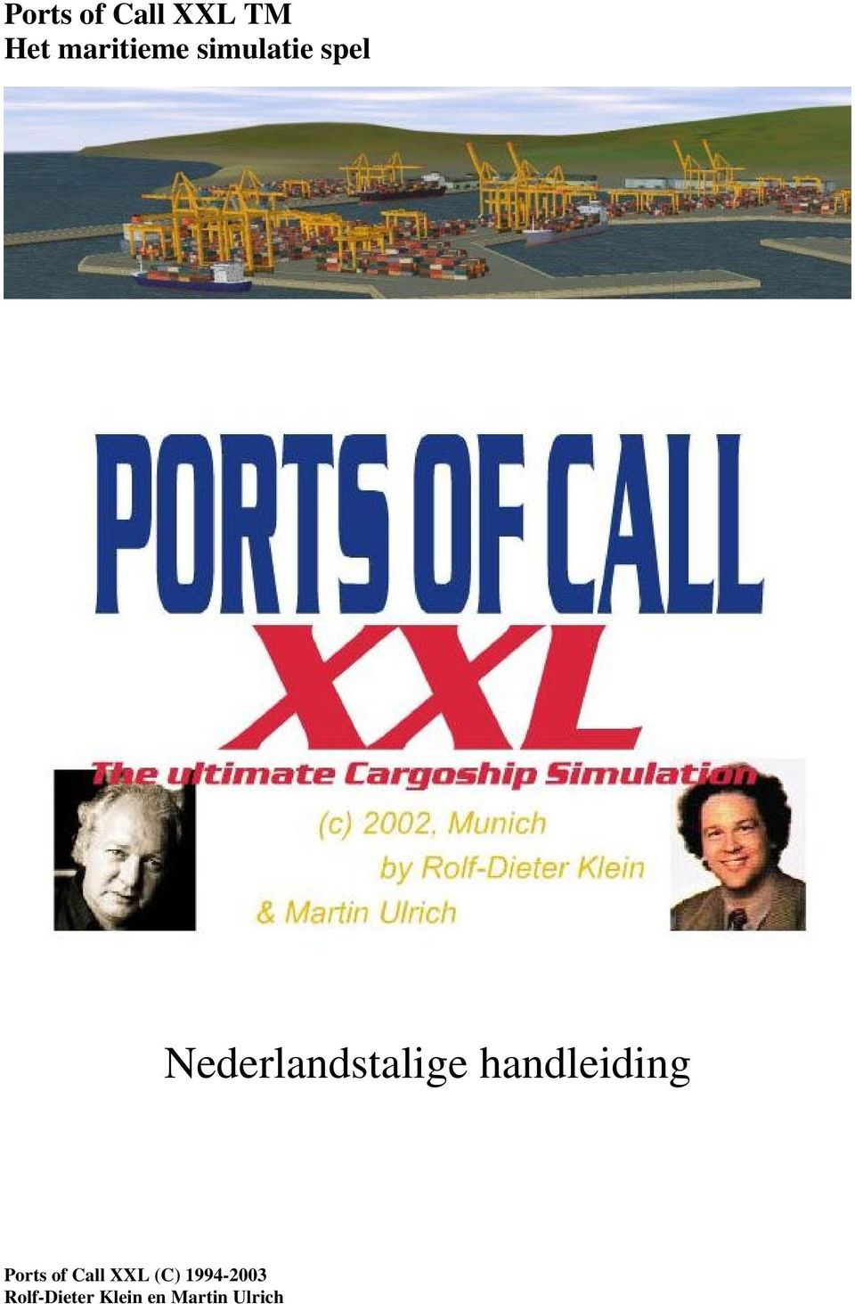 handleiding Ports of Call XXL (C)
