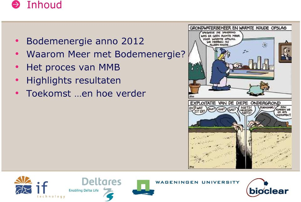 Het proces van MMB Highlights