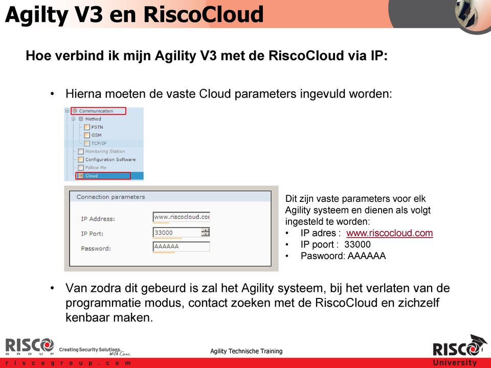 adres : www.riscocloud.