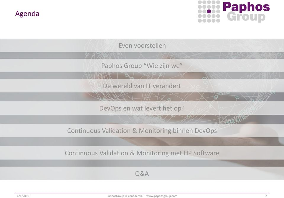 Continuous Validation & Monitoring binnen DevOps Continuous