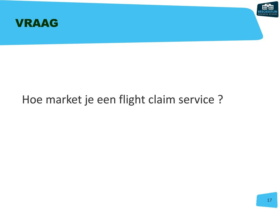 een flight