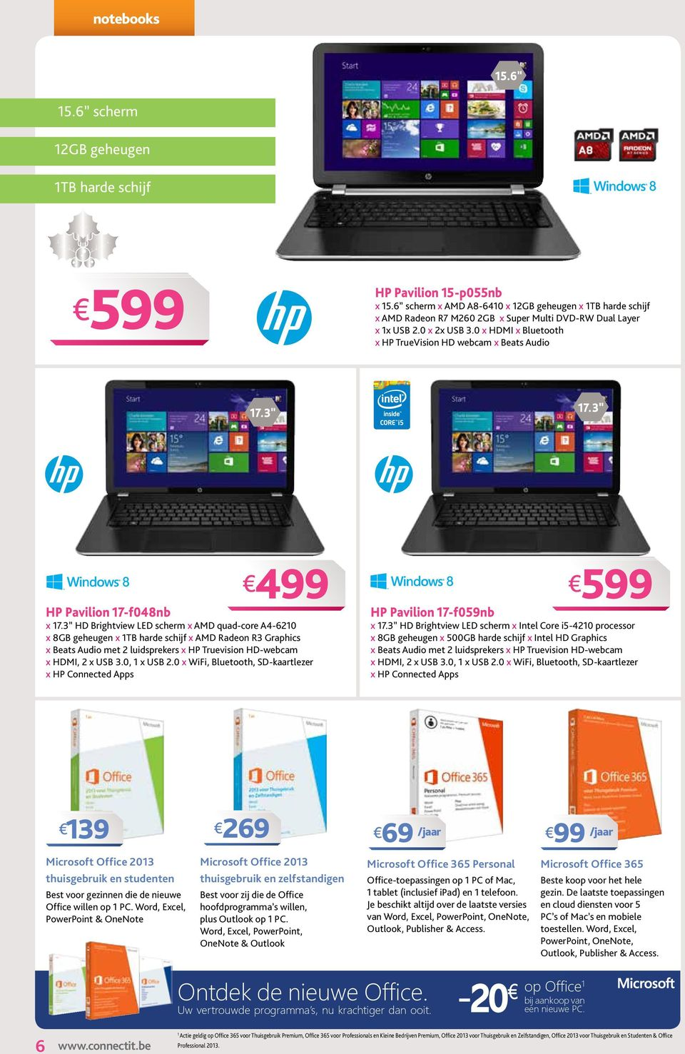 0 x HDMI x Bluetooth x HP TrueVision HD webcam x Beats Audio HP Pavilion 17-f048nb x 17.
