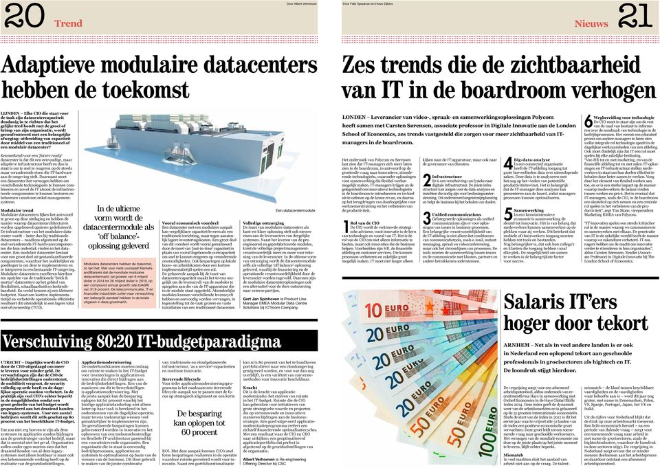 traditioneel of een modulair datacenter?