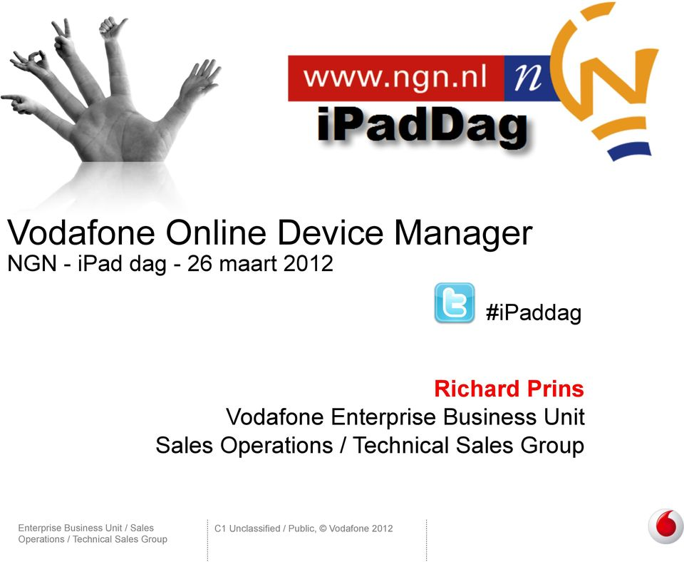Richard Prins Vodafone Enterprise