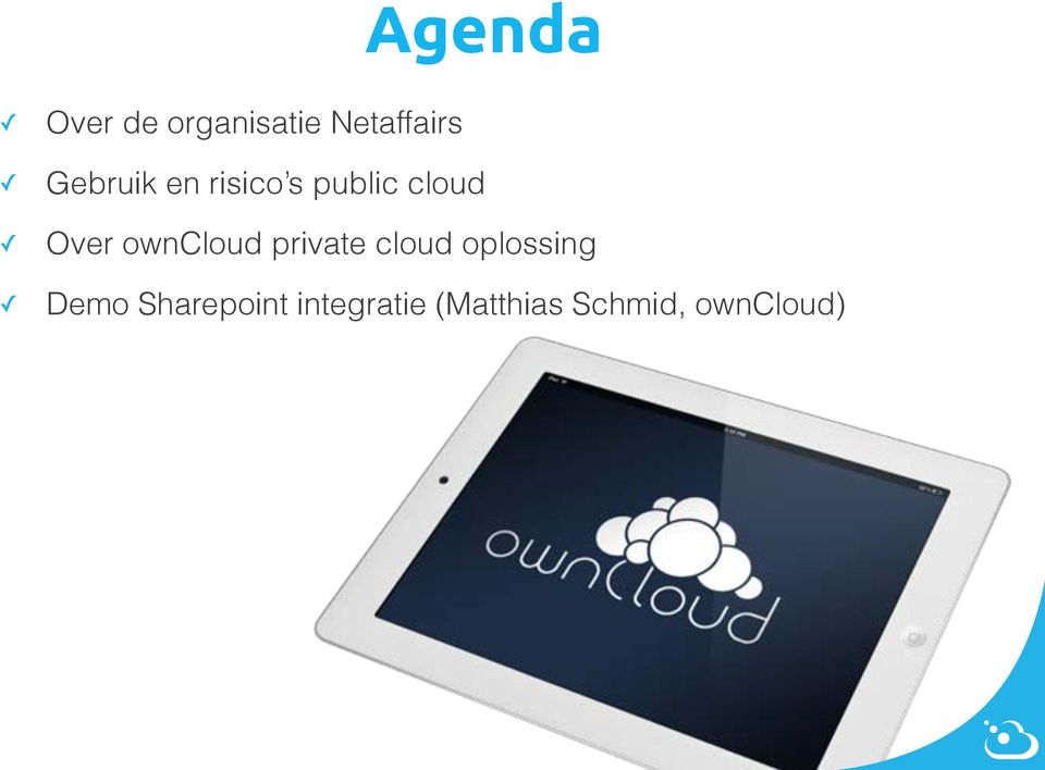 owncloud private cloud oplossing Demo