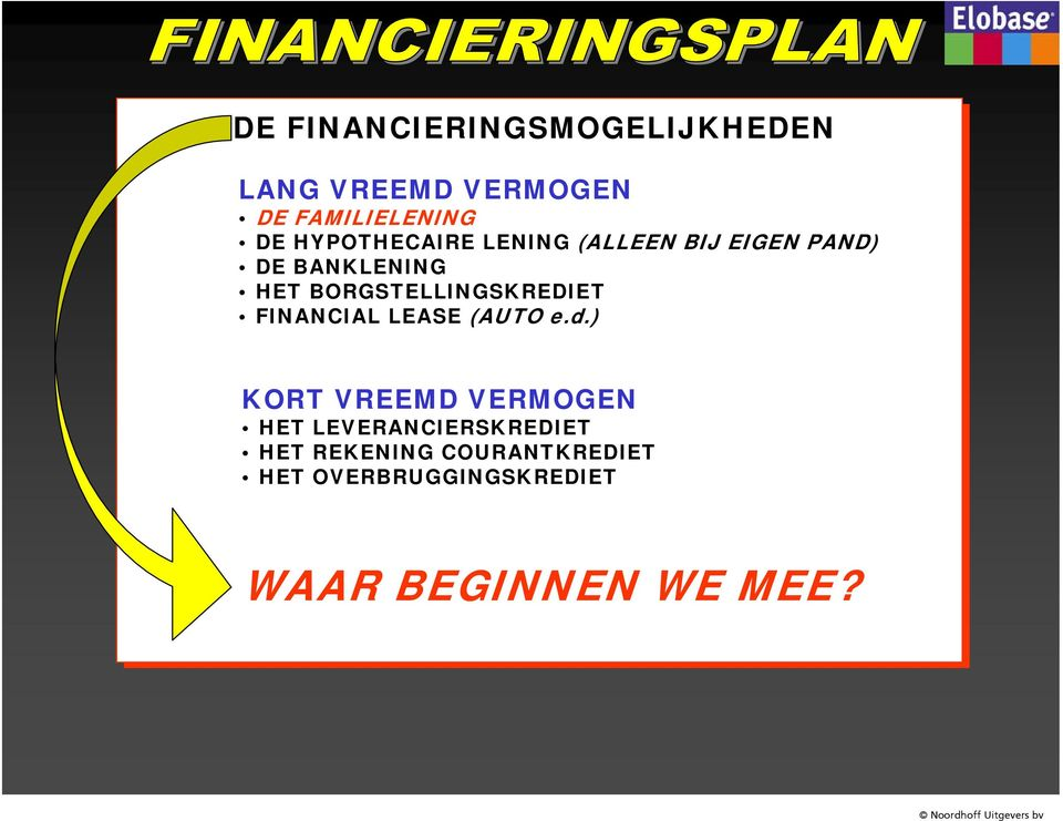 BORGSTELLINGSKREDIET FINANCIAL LEASE (AUTO e.d.