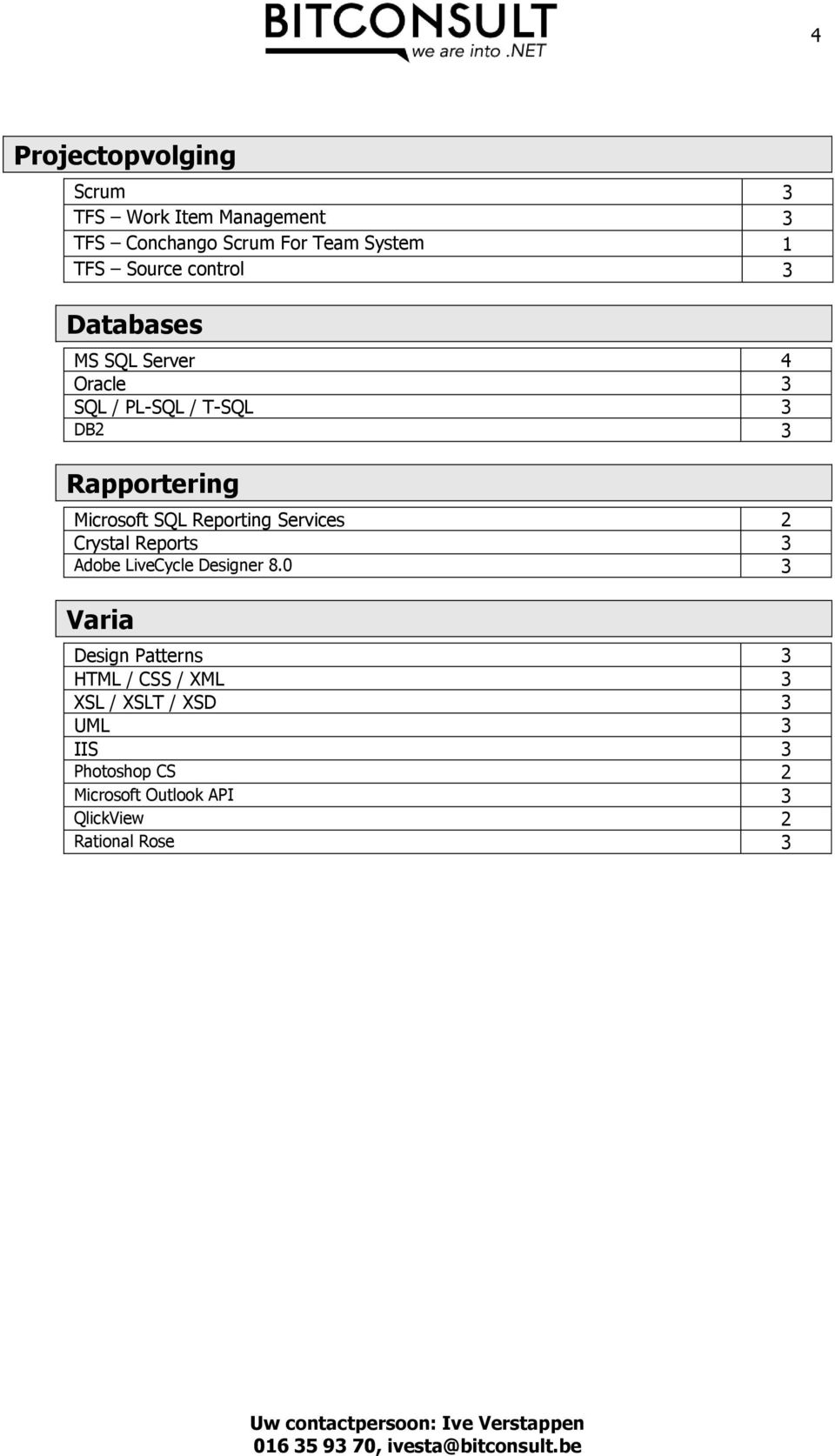 Reporting Services 2 Crystal Reports 3 Adobe LiveCycle Designer 8.