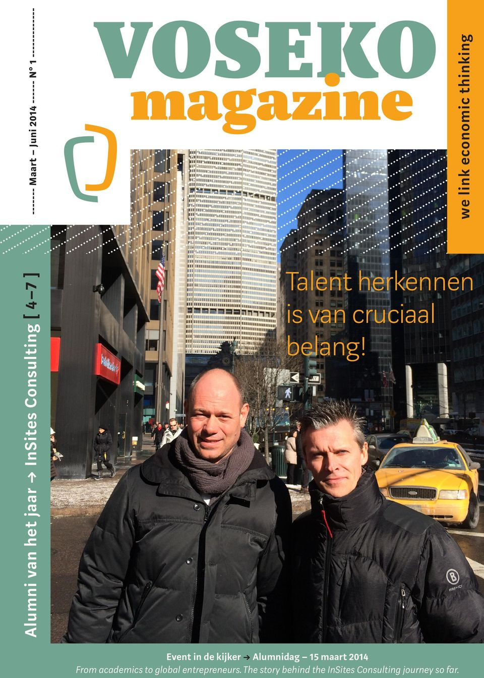 VOSEKO magazine Talent herkennen is van cruciaal belang!