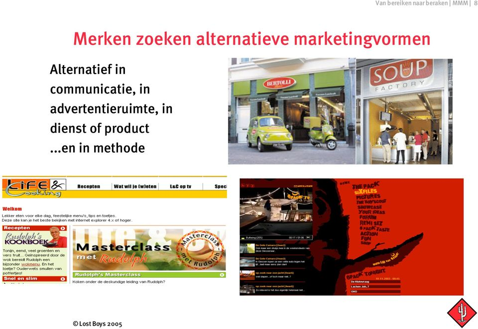 Alternatief in communicatie, in