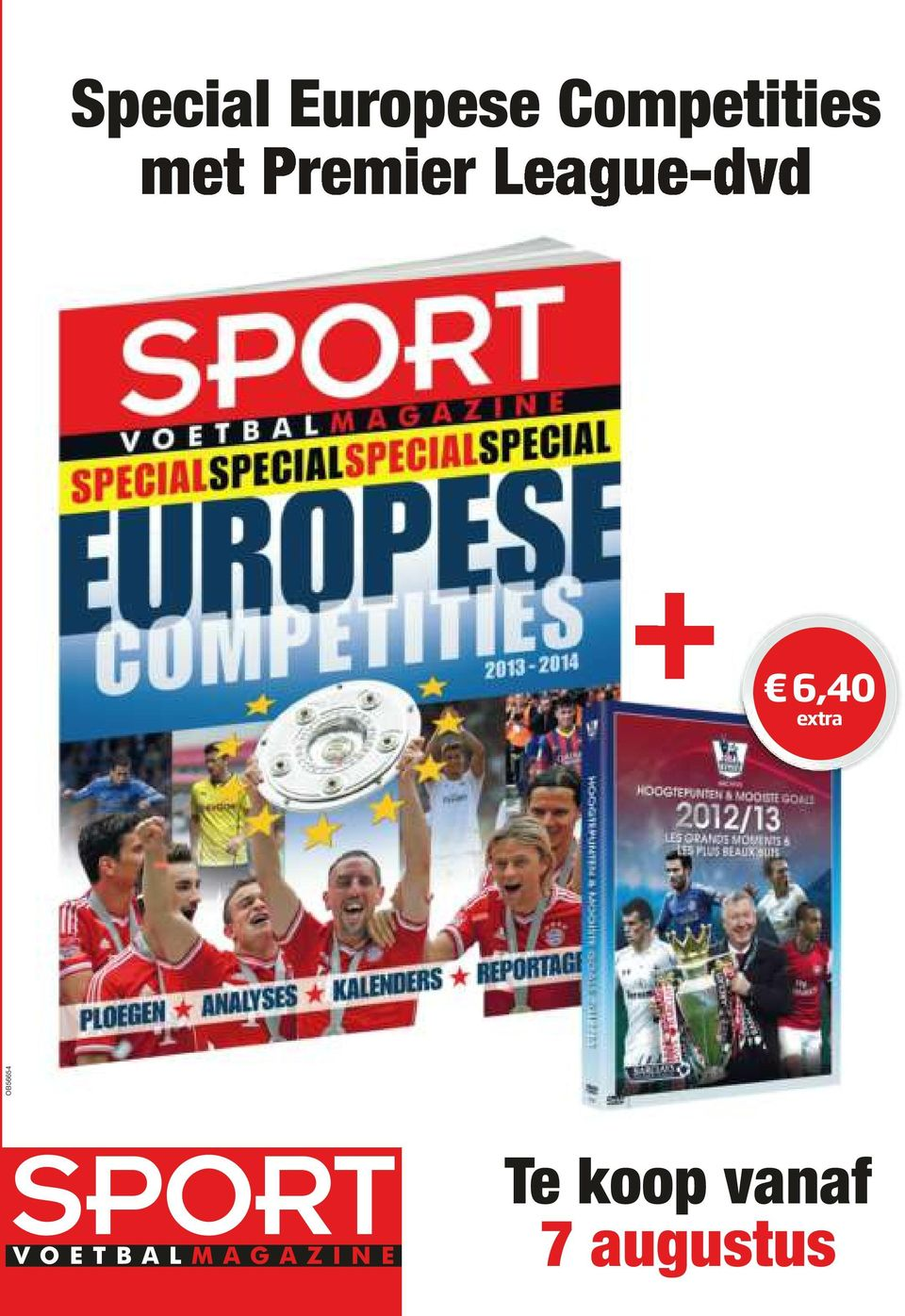 League-dvd + 6,40 extra