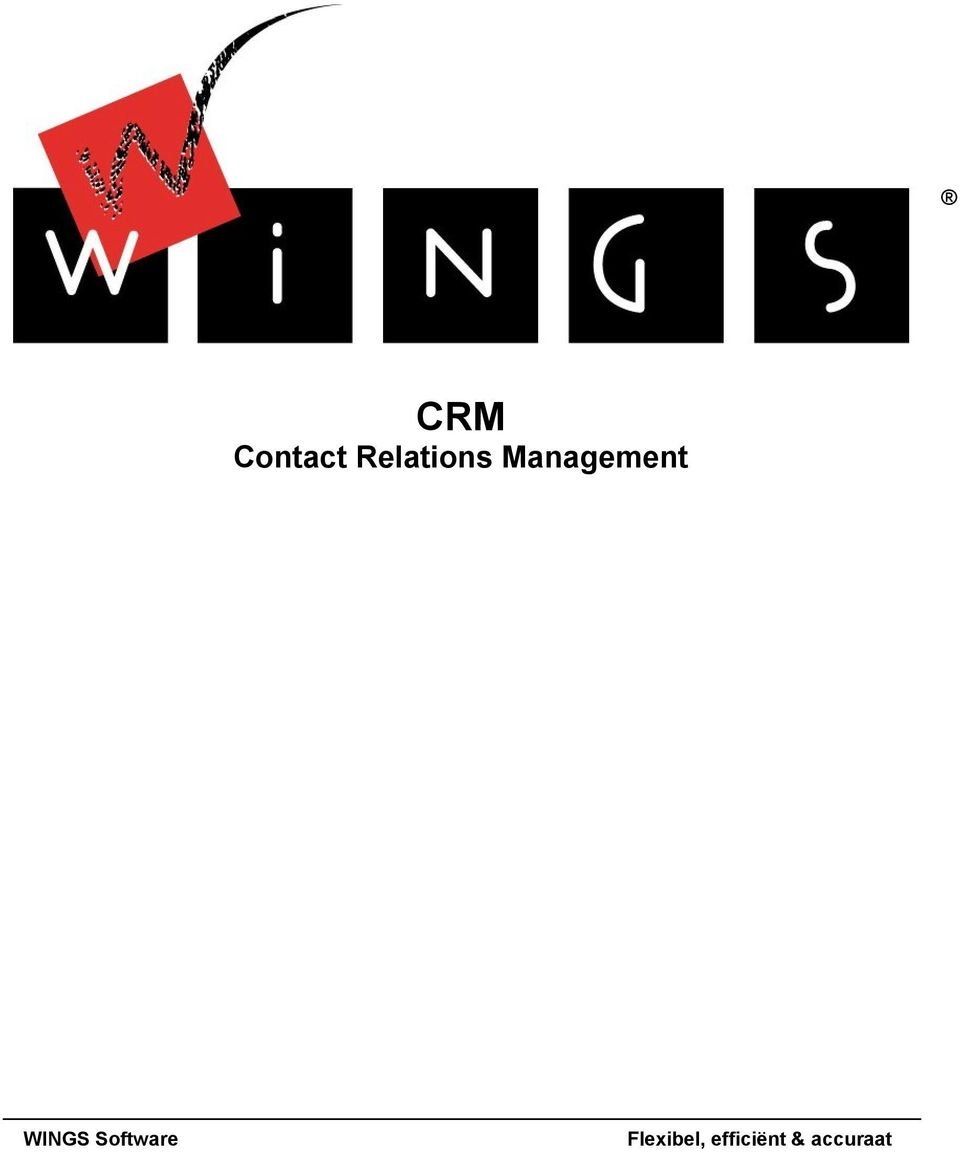 Management WINGS