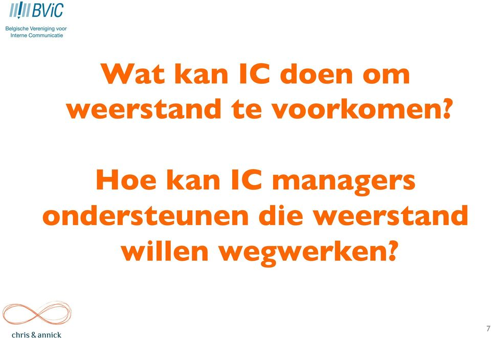 Hoe kan IC managers