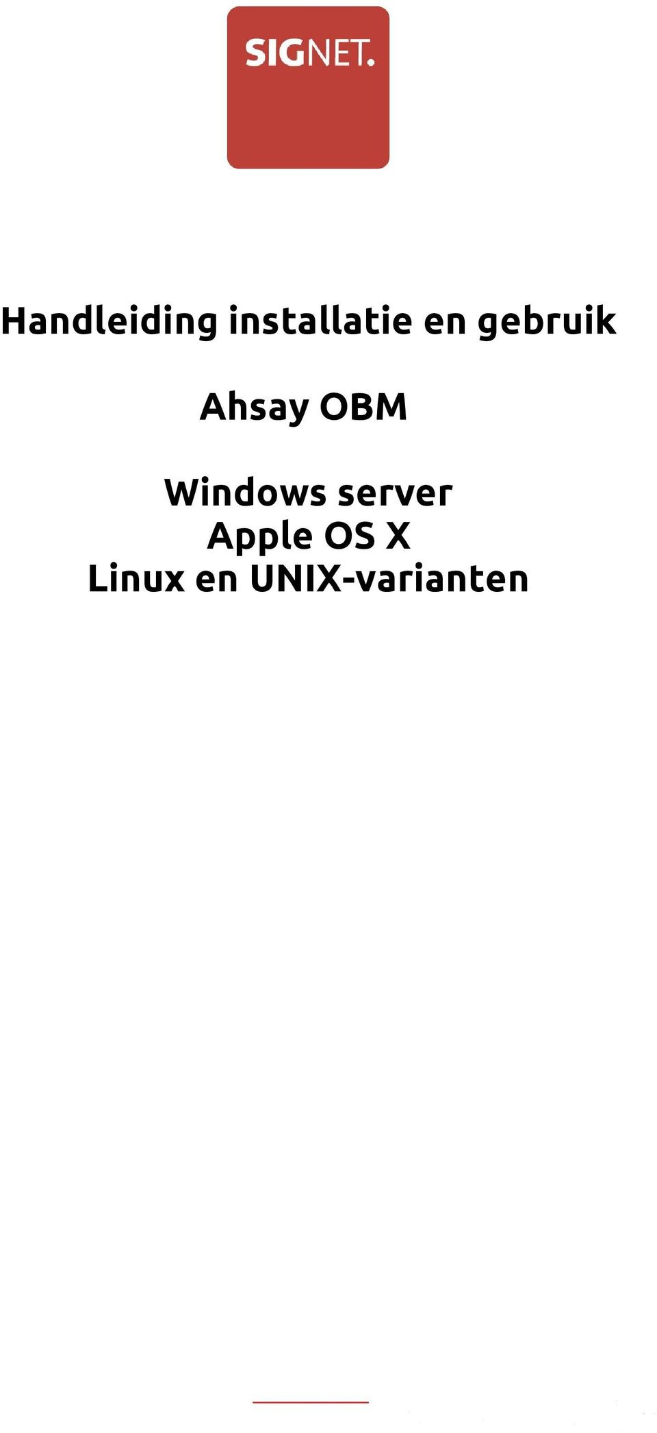 Windows server Apple OS