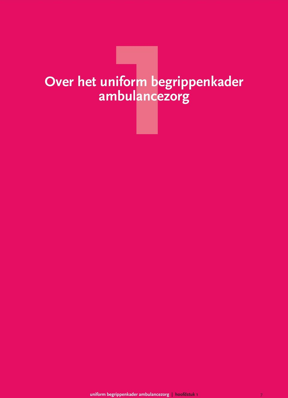 ambulancezorg uniform