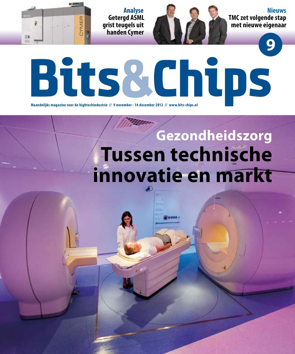 voor de hightechindustrie // 9 november - 14 december 2012 //