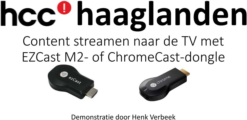 EZCast M2 of ChromeCast