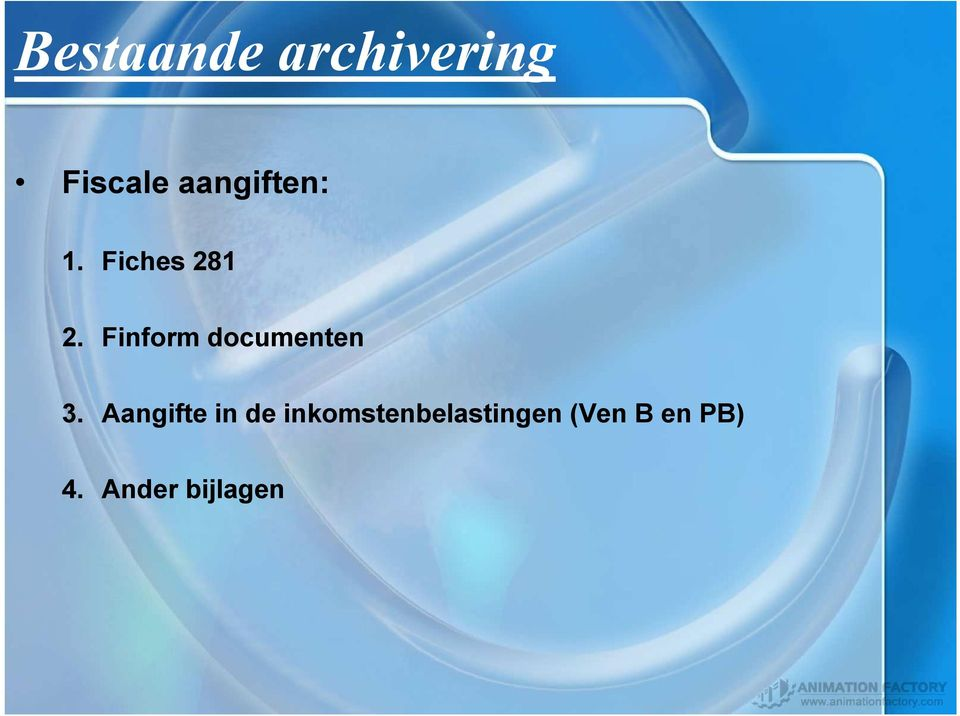 Finform documenten 3.