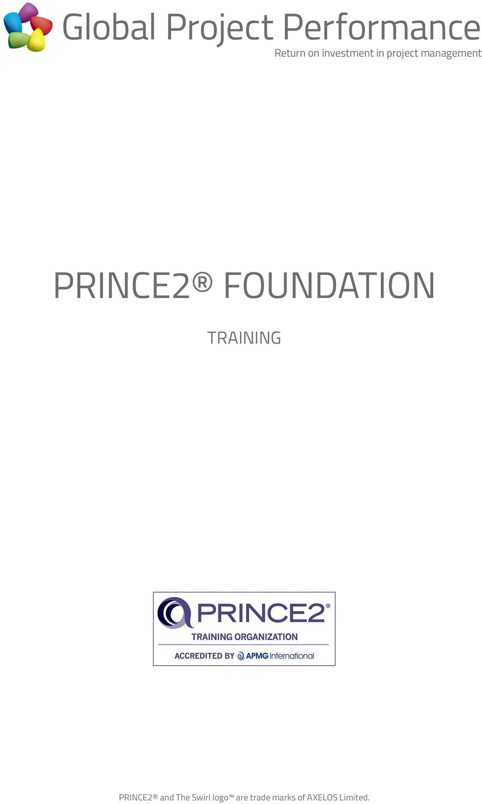TRAINING PRINCE2 and The Swirl