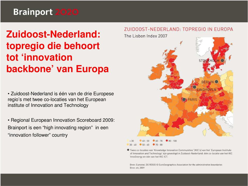 het European institute of Innovation and Technology Regional European Innovation
