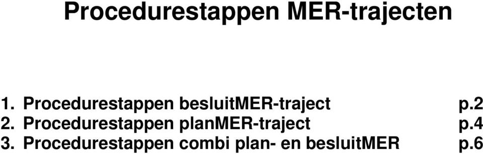 2 2. Procedurestappen planmer-traject p.