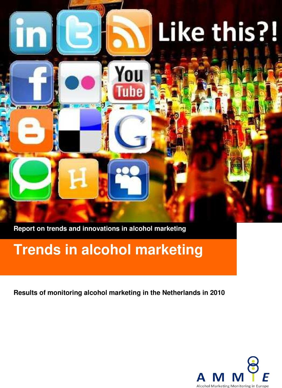 marketing Trends in alcohol marketing