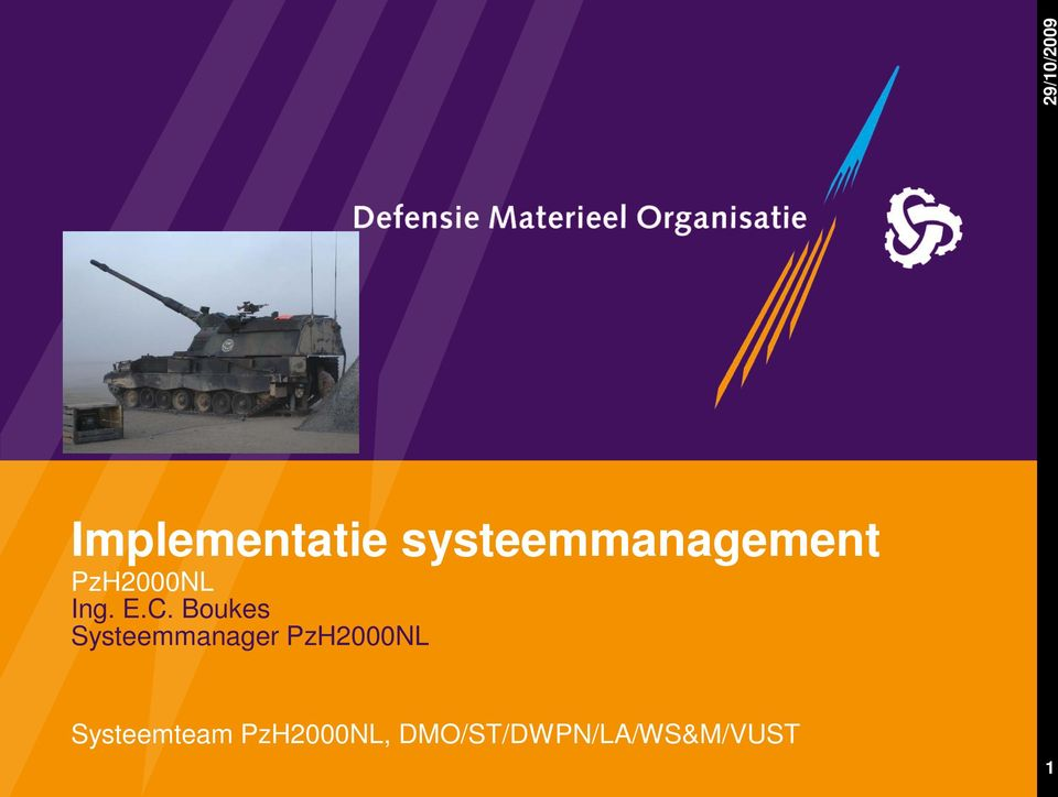 C. Boukes Systeemmanager PzH2000NL
