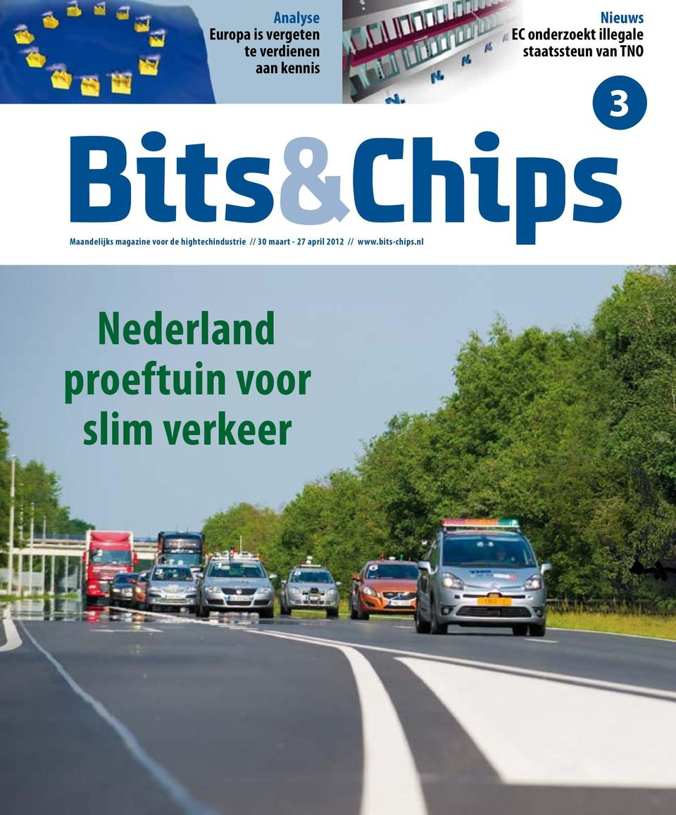 magazine voor de hightechindustrie // 30 maart - 27 april