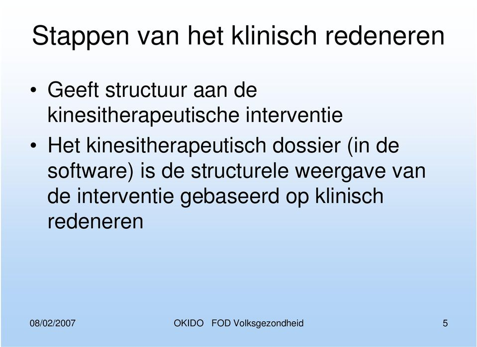 dossier (in de software) is de structurele weergave van de