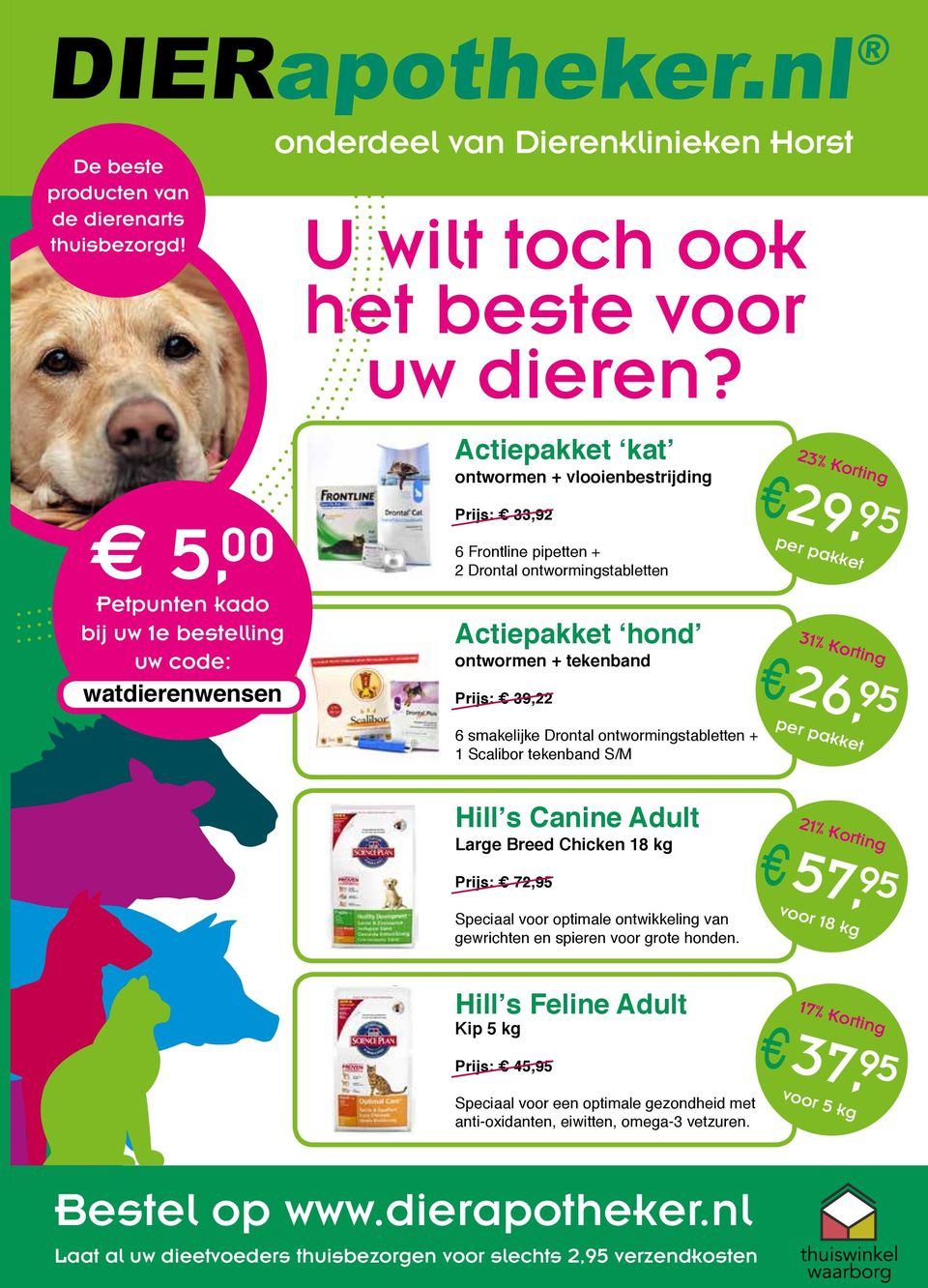hond extra ontwormen