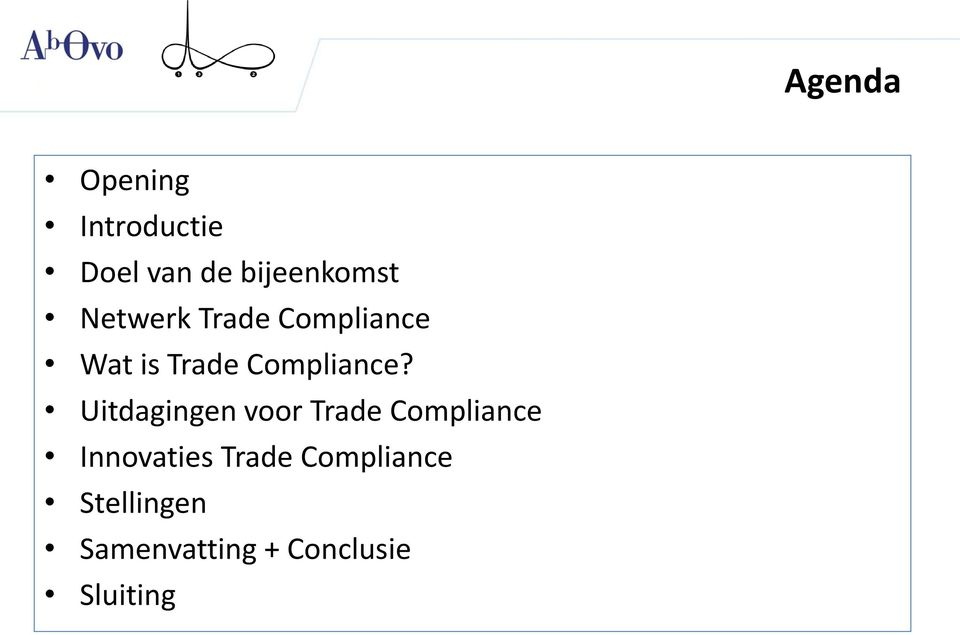 Uitdagingen voor Trade Compliance Innovaties Trade