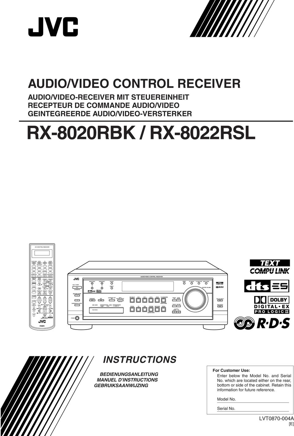 CONTROL RECEIVER CATV/DBS VCR1 TV AUDIO MULTI CD FM/AM TV/DBS VIDEO CDR PHONO VCR1 VCR 2 TAPE/MD USB SURROUND DSP SURR/DSP ANALOG/DIGITAL OFF INPUT ANALOG BASS DIRECT BOOST FRONT L FRONT R 1 2 3 MENU