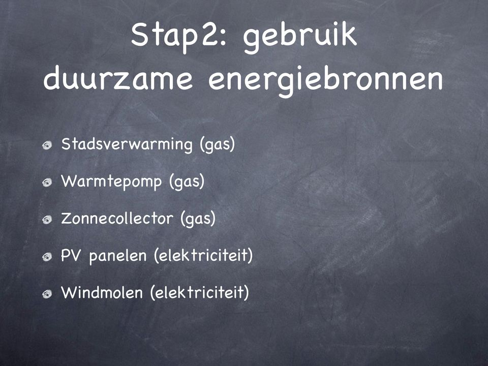 Warmtepomp (gas) Zonnecollector (gas)