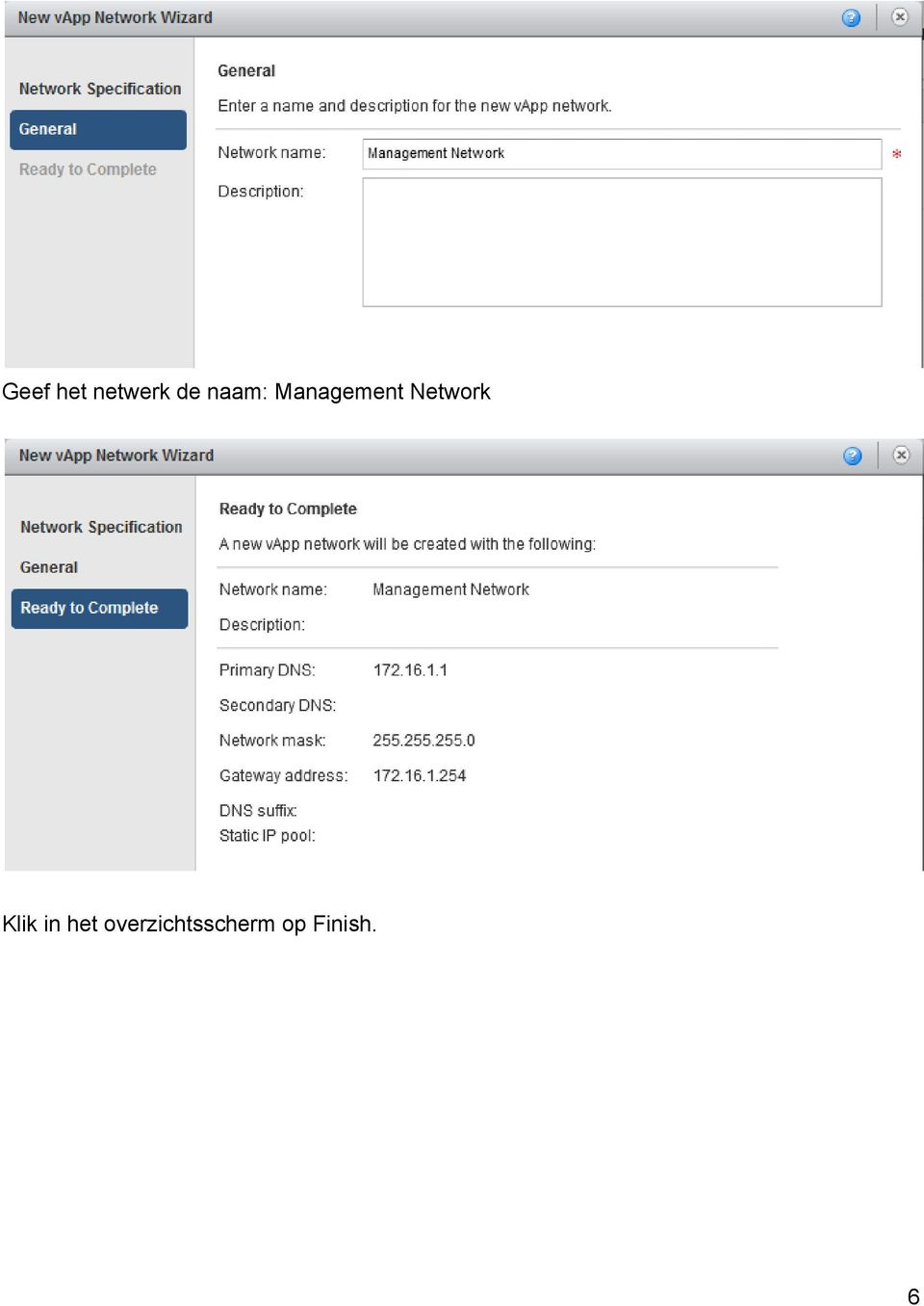 Network Klik in het