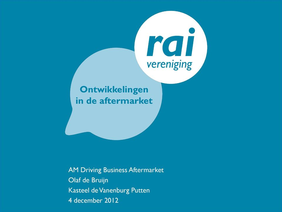 Business Aftermarket Olaf de