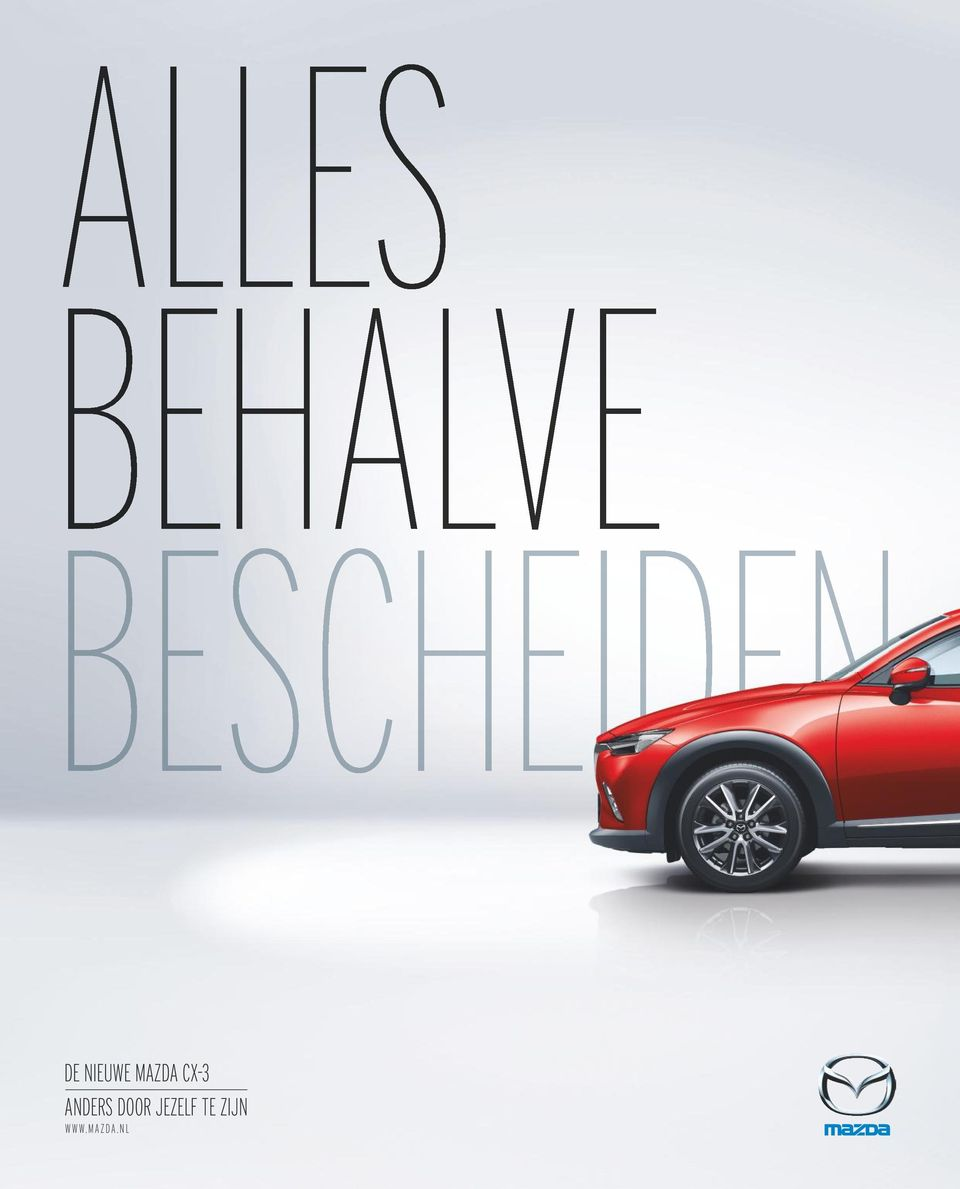 MAZDA CX-3 ANDERS