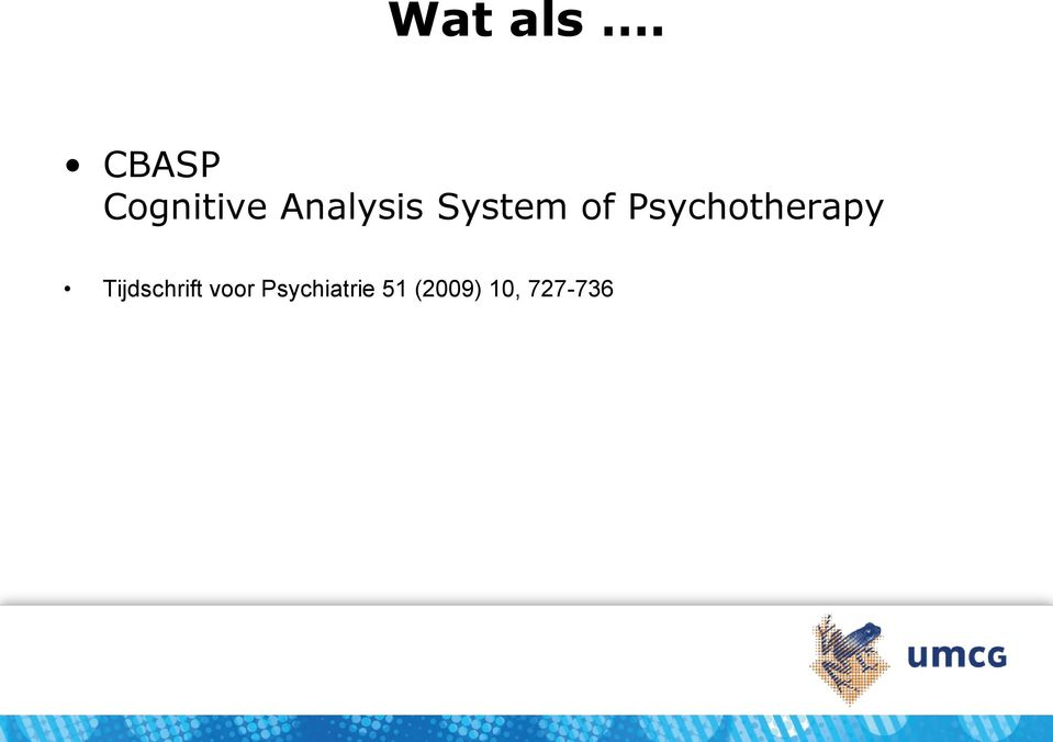 System of Psychotherapy