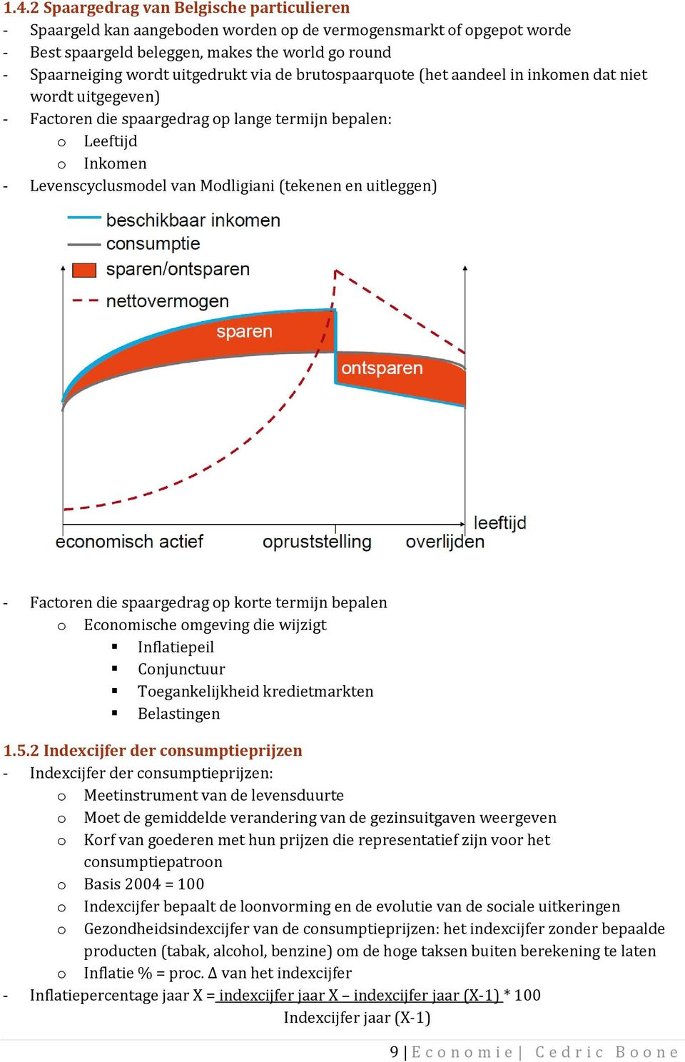 Index consumptieprijzen basis 2004