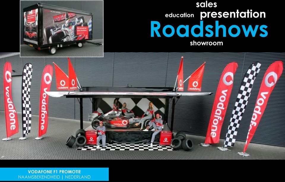 showroom VODAFONE F1