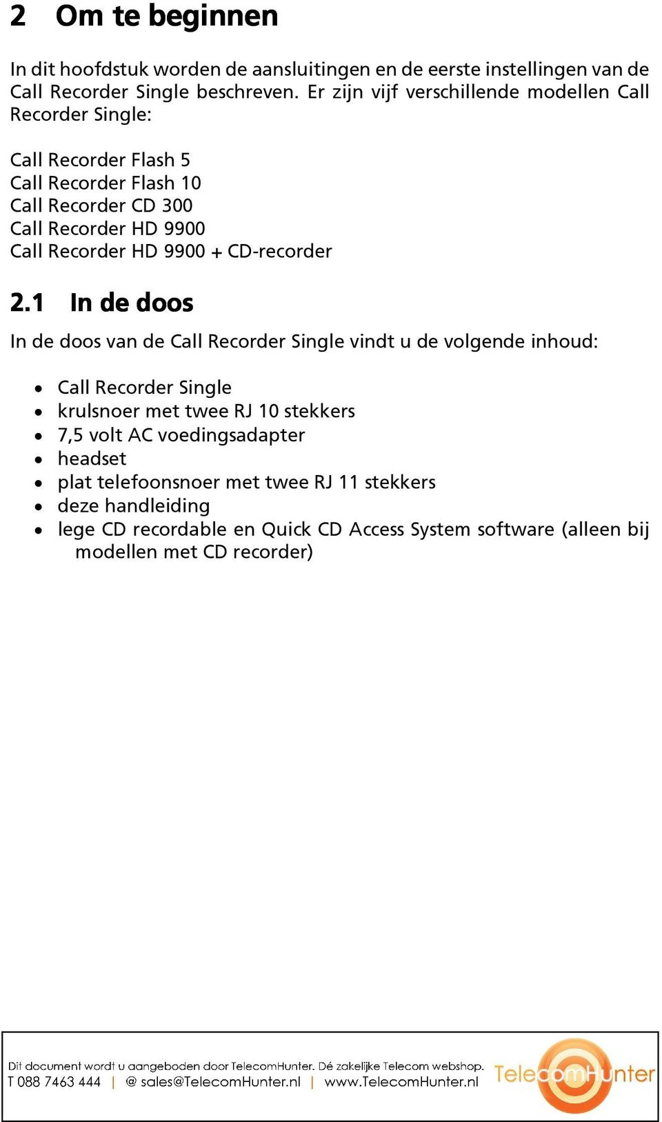 CD-recorder 2.