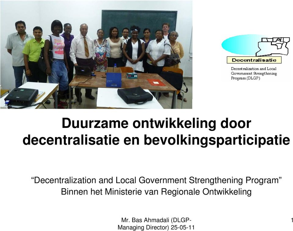 and Local Government Strengthening Program