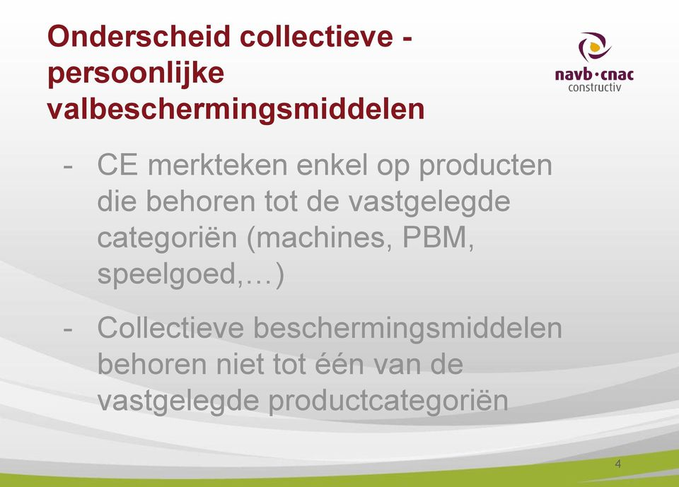 categoriën (machines, PBM, speelgoed, ) - Collectieve