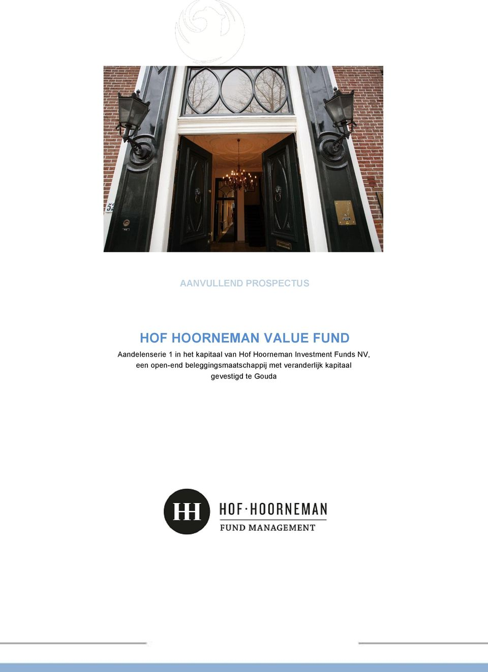 Investment Funds NV, een open-end