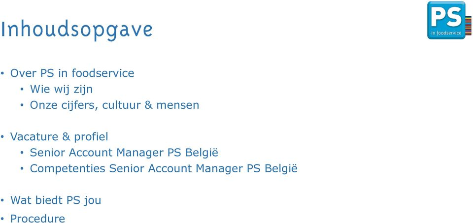 functie omschrijving account manager