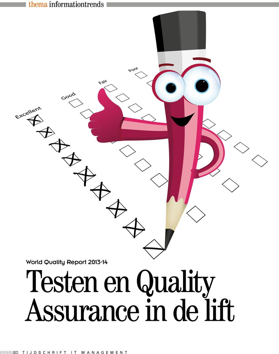 Quality Assurance in de lift 20 t
