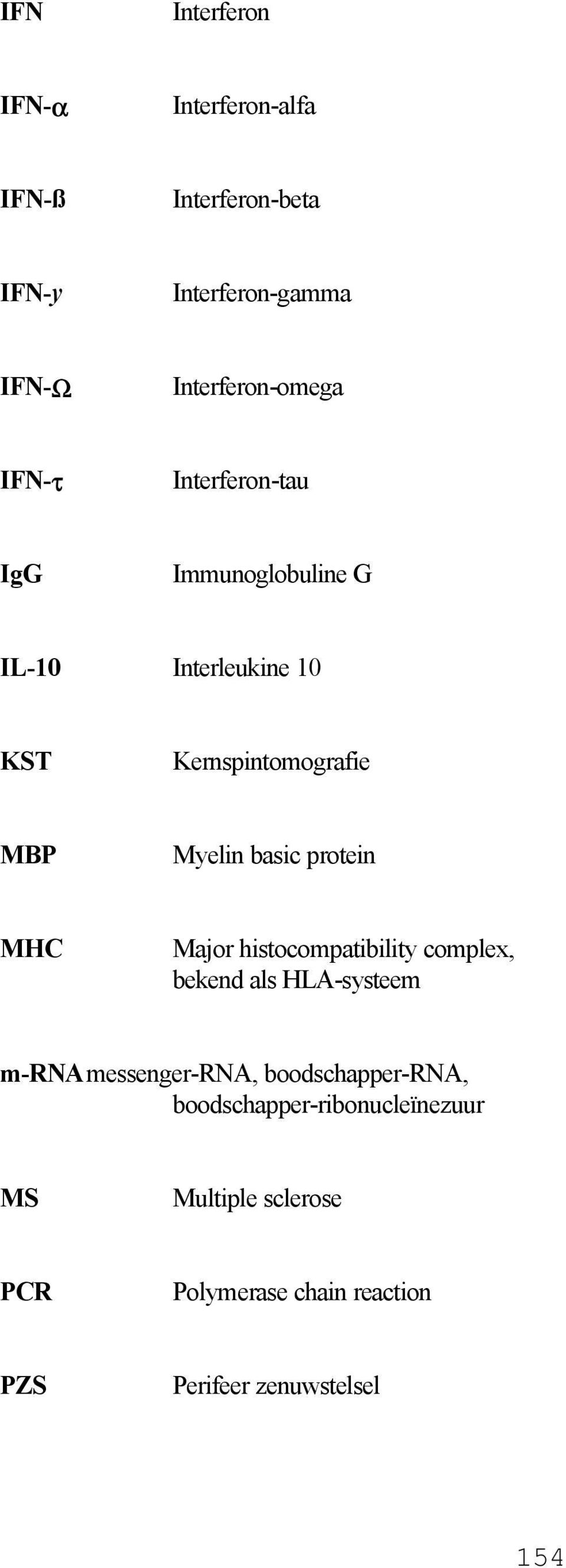 protein MHC Major histocompatibility complex, bekend als HLA-systeem m-rnamessenger-rna, boodschapper-rna,
