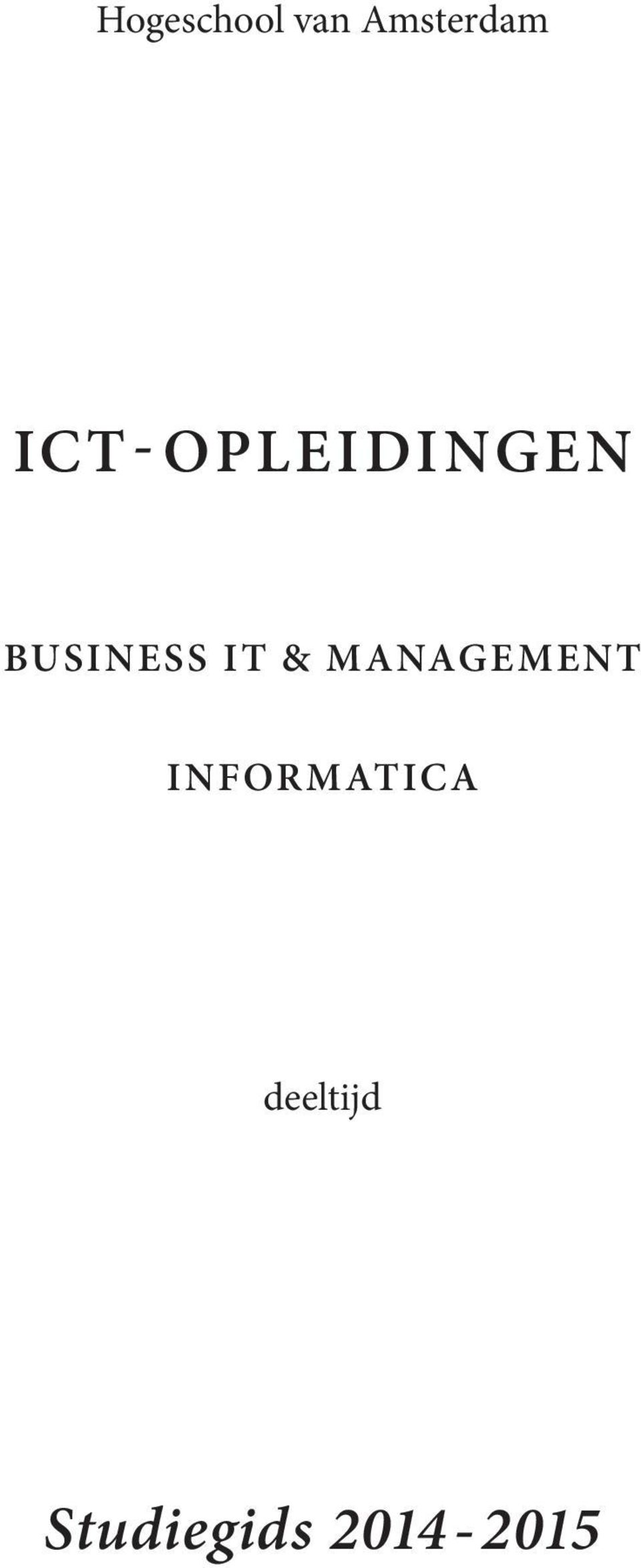 IT & MANAGEMENT