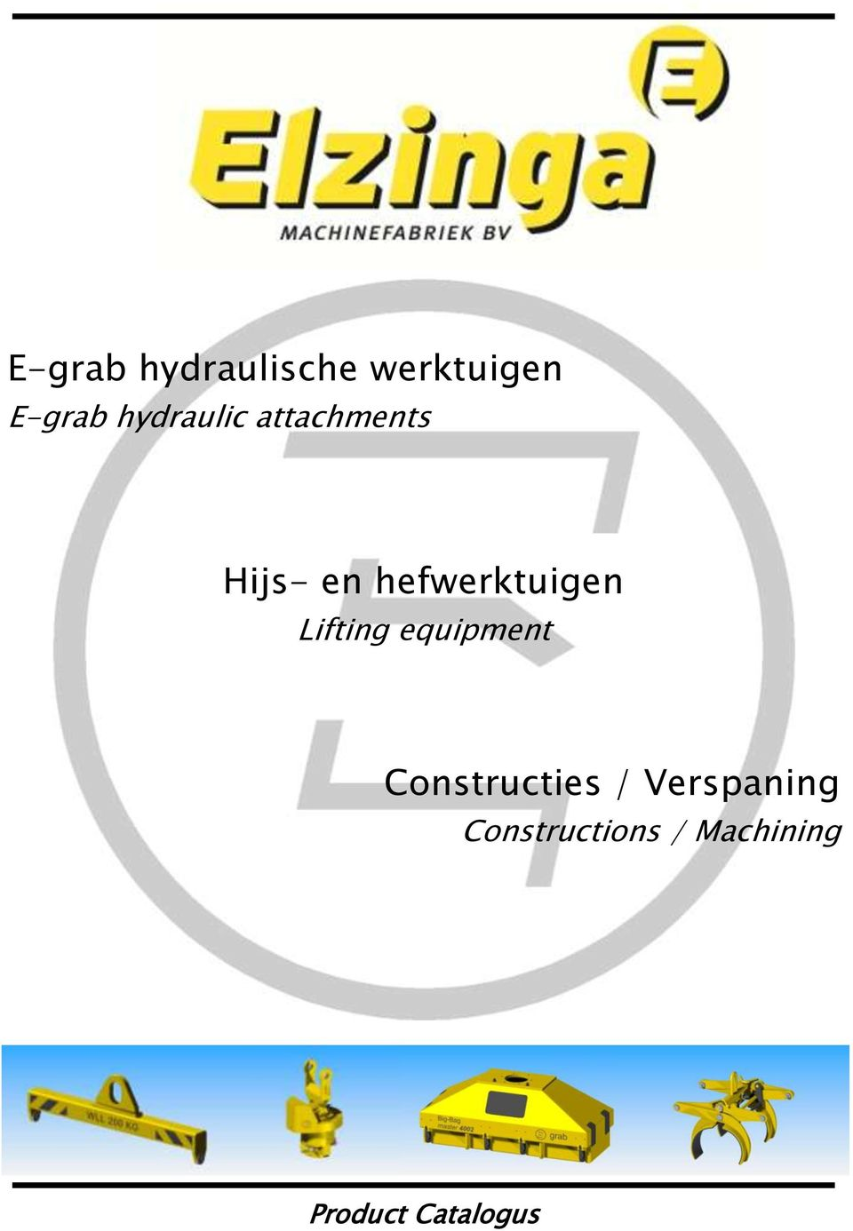 hefwerktuigen Lifting equipment
