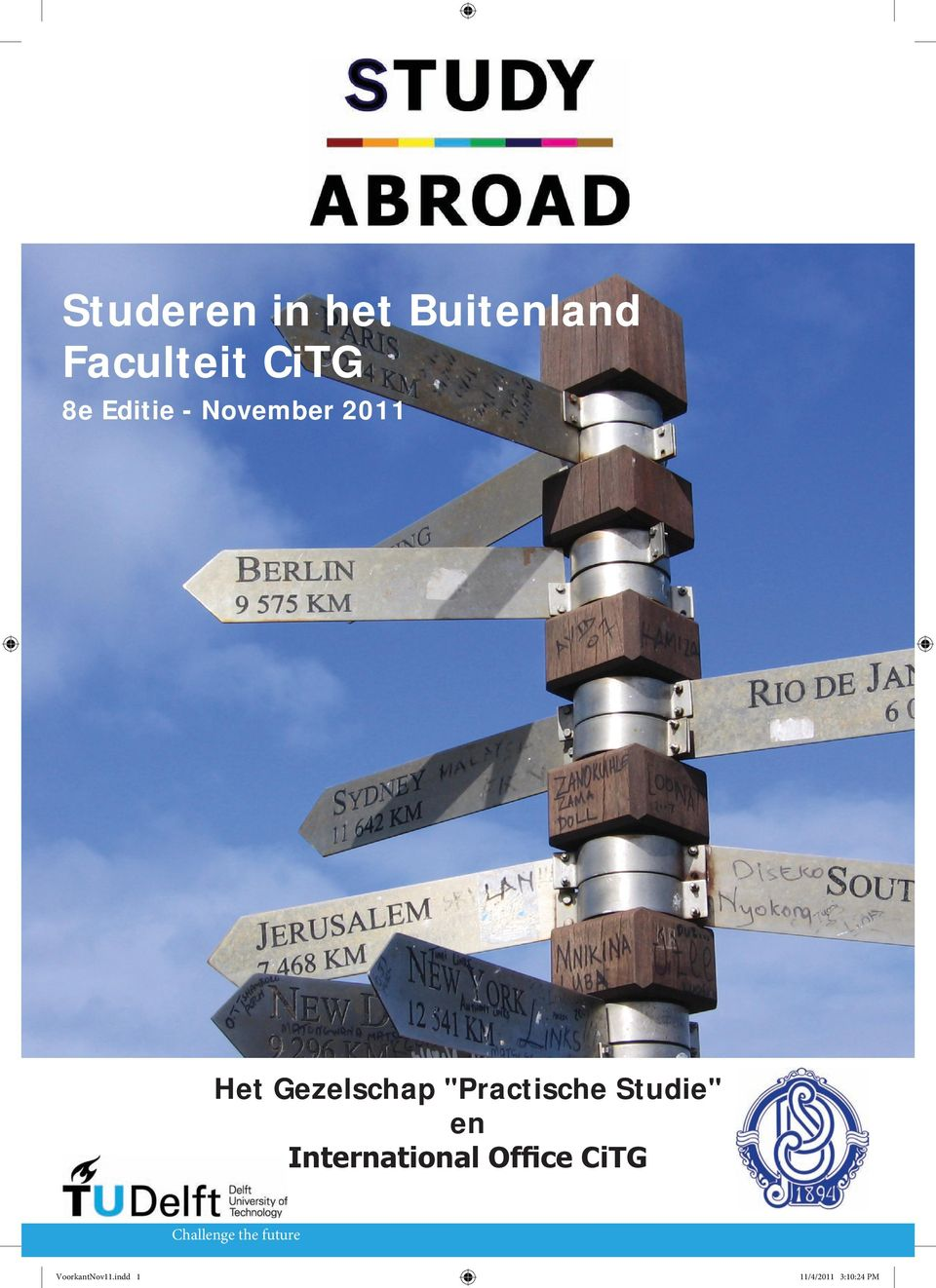"""Practische Studie"" en International Office CiTG"