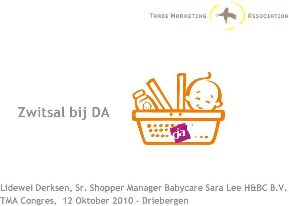 Shopper Manager Babycare Sara